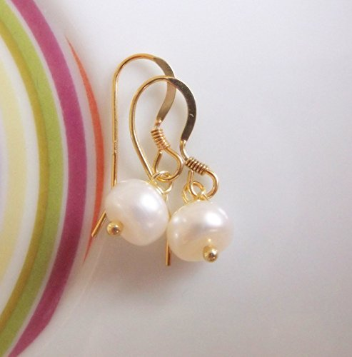 22k-gold-vermeil-with-small-ivory-freshwater-button-pearl-drop-earrings