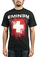 Eminem - - Splattered Herren T-Shirt in Schwarz