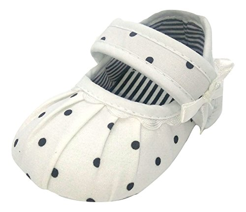 Baby Bucket Pre-Walker Sandal Shoes Light Weight Soft Sole Booties Sandal (4-8 Months, White)  available at amazon for Rs.365