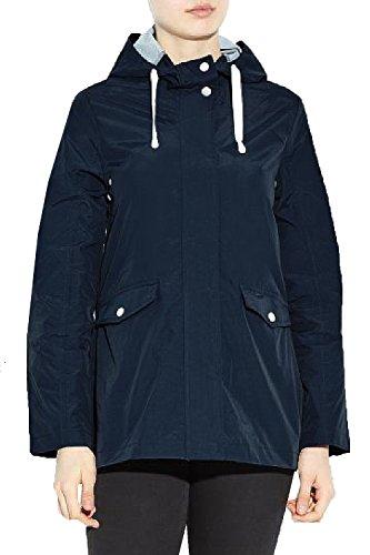 Brave Soul Damen Trenchcoat Mantel blau blau 34 Navy - Blue