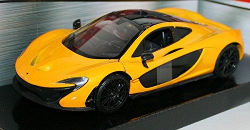 mclaren-p1-yellow-1-24-by-motormax-79325-by-motormax