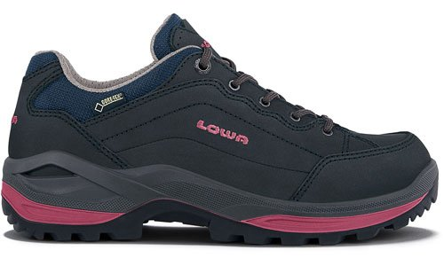 Lowa Schuhe Renegade GTX LO Women - navy/beere UK 6,5