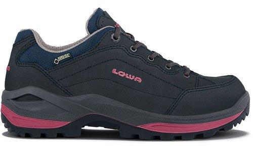 Lowa Extérieur Schuhe Renegade Gtx Lo Bleu Marine (320963-6951)