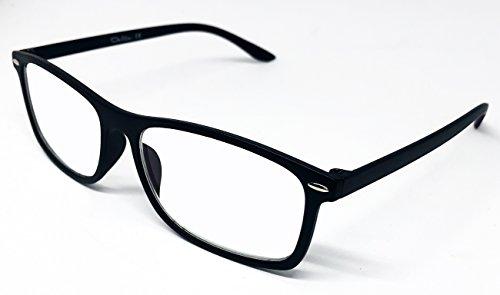 Delta Glasses–Brille für Computer, TV, Tablet, Smartphone, gaming. Gegen den Überanstrengung, mehr Komfort Visual, zertifiziert eine Verringerung der Licht Blau 41% und 100% UV, Filter Panel–Gläser-Lesung mit Behandlung anti-reflejante Licht Blau.