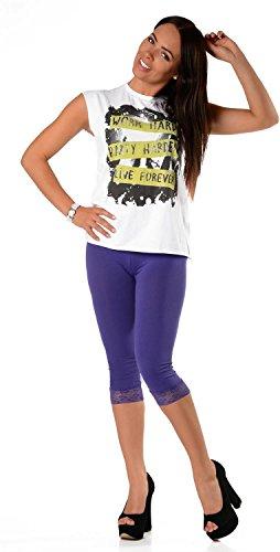 AE - Legging - Femme Violet - Violet