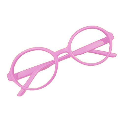 Juleya Baby Runder Gläser Rahmen - Kleinkind Säugling Kinder Brillen Geek/Nerd Retro Reading Eyewear Keine Objektive für Mädchen Jungen