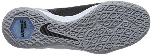 Nike Herren Hypervenomx Finale II IC Fußballschuhe Grau (Wolf Grey/Black-Chlorine Blue-Dark Grey)