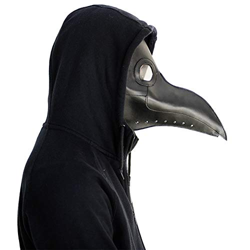 Einzigartige Kostüm Weihnachten - Tierkopf Maske Maskerade Party Maske Retro Leder Vogel Maske Cosplay Deluxe Neuheit Festival Halloween Weihnachten Kostüm Party Einzigartiges Leichtgewicht