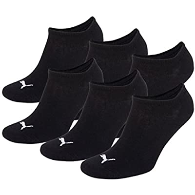 Puma Unisex Sport Socks Pack of 6 Black black Size:35/38 (EU)