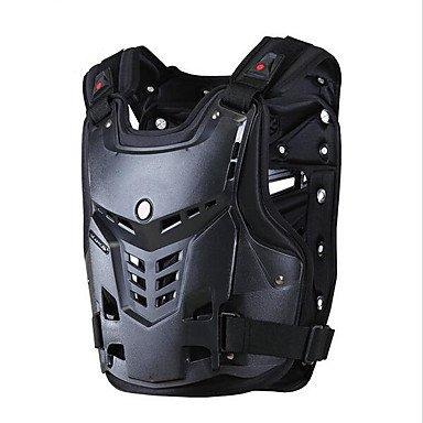 TOPY AM05 Motorräder Motocross Brust&Rückenprotektor Rüstung Weste Rennschutzleibwache Rüstung, 10*5