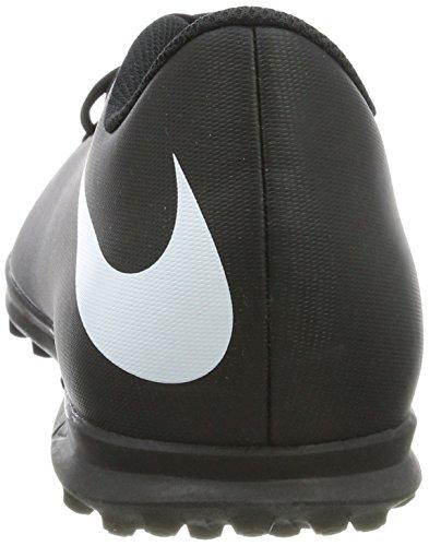 Nike Bravatax II TF, Chaussures de Football Homme Noir (Black/white-black)