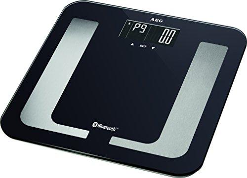 AEG PW 5653 BT. Tipo: Báscula personal electrónica, Capacidad máxima de peso: 150 kg, Precisión: 100 g. Pantalla: LCD. Ancho: 300 mm, Profundidad: 300 mm. Tipo de batería: AAA, Tecnología de batería: Alcalino, Voltaje de la pila: 1,5 V Exhibición -Pa...
