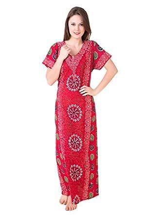 Masha Women's Cotton Nighty NT54-186