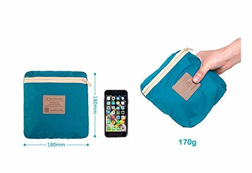 Naturehike Borsa di Tote dell'organizzatore della valigia esterna di viaggio impermeabile 35L (Light Pink) Dark Green