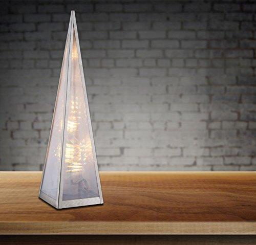 LED Weihnachtspyramide mit Beleuchtung Weihnachtsbeleuchtung fürs Fenster Schalter (Pyramide, Tischlampe, Weihnachtsdeko, Weihnachtsbeleuchtung)