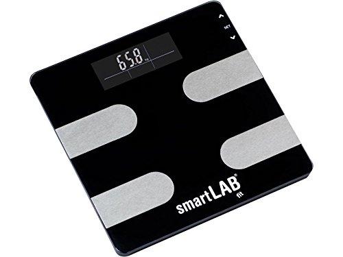 Personenwaage Bewertung (smartLAB fit Körperanalyse-Waage digital | Körperfett-Waage zum Messen von Gewicht, Kalorien, Wasser, Muskel-Masse, Knochen | Körperwaage)