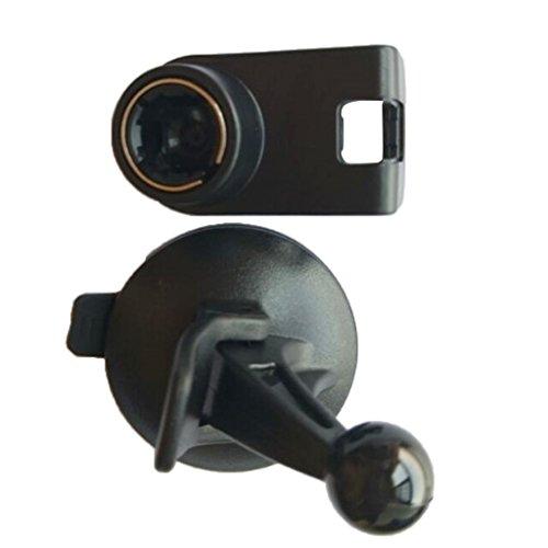 monkeyjack New Schwarz Car Saugnapf-Halter Windschutzscheibe Starker Saugnapf GPS-Halterung für Magellan RoadMate 14451470147530303055504551454700 1470 Gps