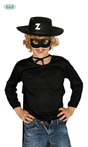 KINDER HUT - ZORRO -, Bandit Verfilmung Roman Maskenmann (Kostüm Mädchen Bandit Für)