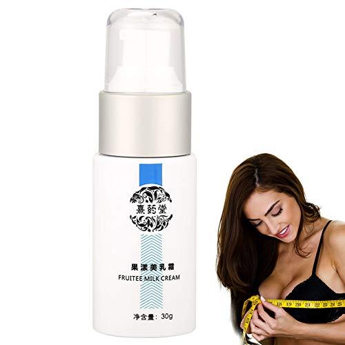Crema de Pecho aumento de senos 30g Natural Bust Boost Crema de masaje reafirmante y lifting Aceite esencial para aumento de senos Anti-caída