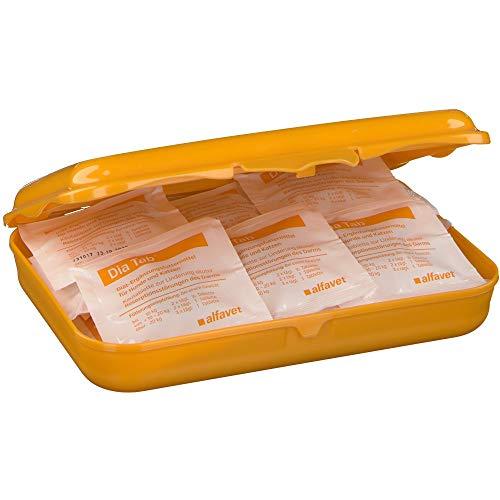 Alfavet Dia Tab Reiseapotheke in der praktischen Plastikbox bei akutem Durchfall, 1er Pack (1 x 110 g)