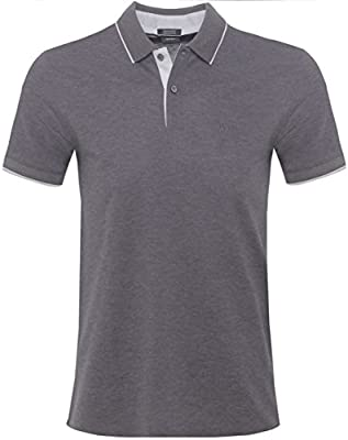 BOSS Hugo Boss Camisa de Polo regular Fit Parlay 3 Gris Medio