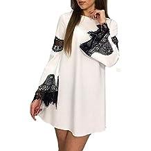 Overdose Womens Lace Splicing Fashion Sexy Dress Una LíNea De Moda Mejor Venta Nueva Ladies Evening