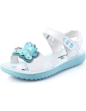 MINBEI Pequeño Chicas Niña Sandalias con Mariposa Verano Sandalias Zapatos para 3-12 Edad Chicas