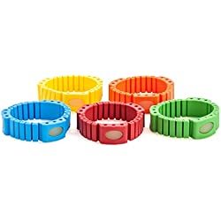 Generic Mosquito Repellent Bracelet - Deet Free, Non-Toxic Insect Repelling Wristbands Safe for Kids & Babies, 1 Bracelet+3 Refills, Super Premium Quality + Stylish Designs