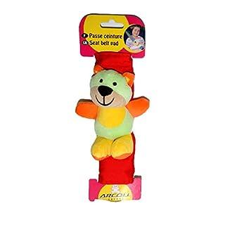 12367 Teddy Rainbow Child Safety Seat Belt Adjuster