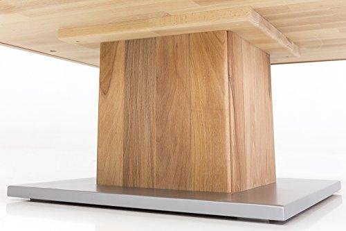 Massivholz Couchtisch Quadratisch Aus Kernbuche Geolter Wohnzimmer