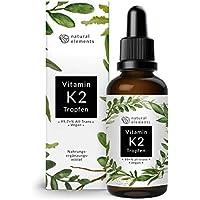 Vitamin K2 MK-7 Tropfen 200µg - 50ml - Aktionspreis - Höchster All-Trans Gehalt (min. 99,7%) - Premiumqualität: K2VITAL von Kappa - Laborgeprüft, vegan, hochdosiert, und hergestellt in Deutschland