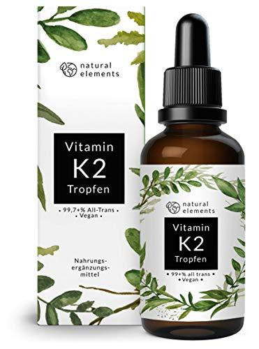 Vitamin K2 MK-7 Tropfen 200µg - 50ml - Aktionspreis - Höchster All-Trans Gehalt (min. 99,7{c6bdd2cf436857c329f10714ab9883907d864274ce0bab168e57c8b2916247b7}) - Premiumqualität: K2VITAL von Kappa - Laborgeprüft, vegan, hochdosiert, und hergestellt in Deutschland