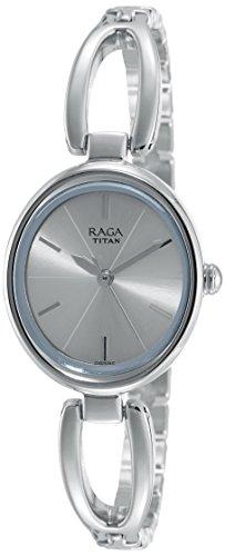 Titan Raga Viva Analog Silver Dial Women's Watch-2579SM01