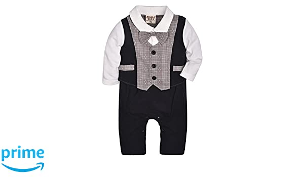 628b9c8410df ZOEREA Baby Boys Formal Wear Wedding Suit Kids Toddler Gentleman One ...