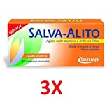 3X SALVA ALITO GIULIANI DA 40 CPR - 120 Compresse Masticabili Gusto Arancia - ALITO FRESCO