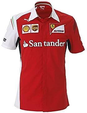 Puma - Camiseta de manga larga - para hombre Rojo rojo Talla:medium
