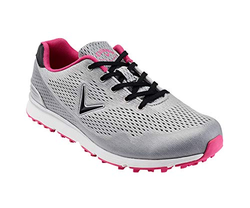 Callaway Solaire Lightweight Breathable Spikeless Chaussures de Golf Femme, Gris Grey, 42.5 EU