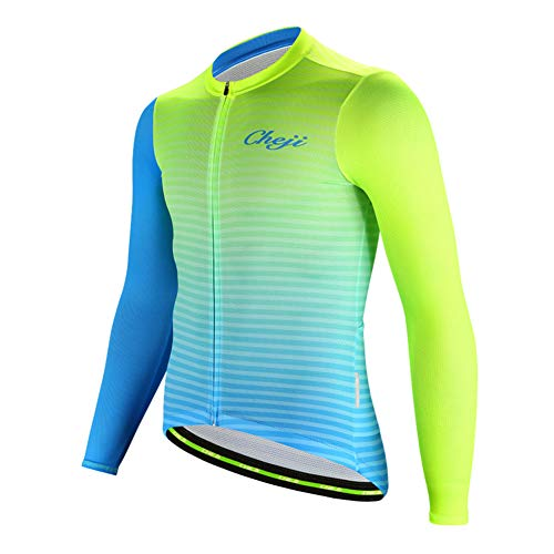 LPATTERN Maillot Ciclismo Hombres Jersey Bicicleta