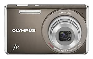 Olympus FE-5030 Digital Camera - Indium Grey (14MP, 5x Wide Optical Zoom) 2.7 inch LCD