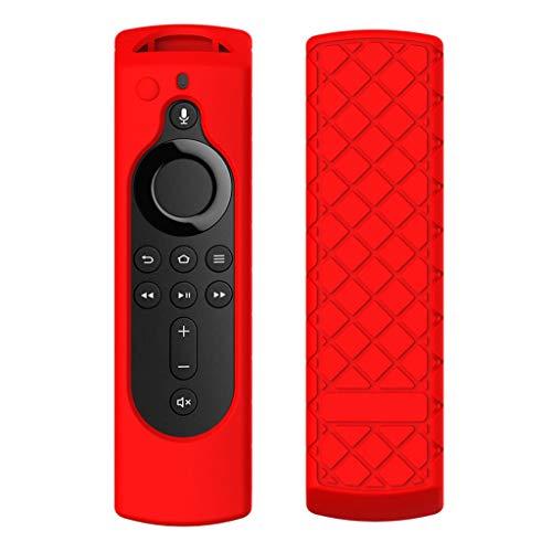 TAOtTAO Für Amazon Fire TV Stick 4K TV-Stick-Fernbedienung Silikonhülle Schutzhülle Haut Silikonhülle (D)
