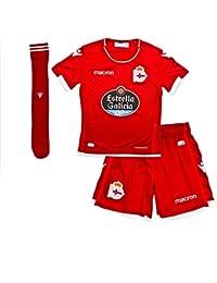 Macron RC Deportivo La Coruña Segunda Equipación 2018-2019 Niño 5f53ad1de7273