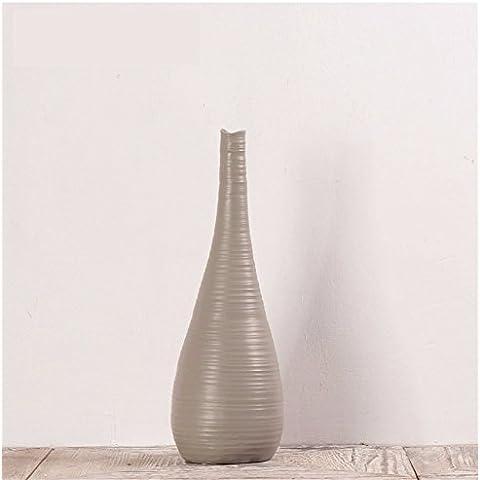 Vasi moderni thread vasi di resina e di oliva porta di fine