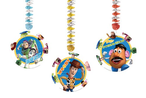 Amscan Toy Story Hängedekoration (Story-ballons Toy)
