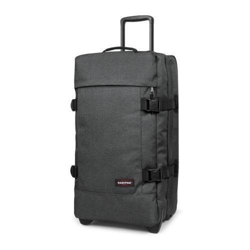 Eastpak - Tranverz M - Bagage à roulettes - Black Denim - 78L