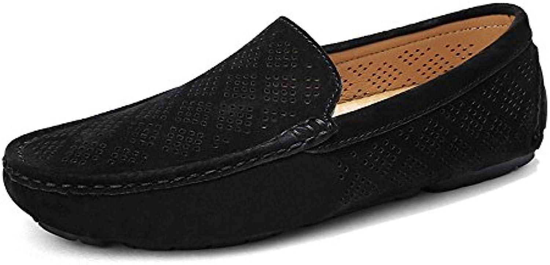 Yajie-shoes, 2018 Mocasines Zapatos para Hombre Manual de Costura para Hombre, Mocasines vacíos, Transpirables...