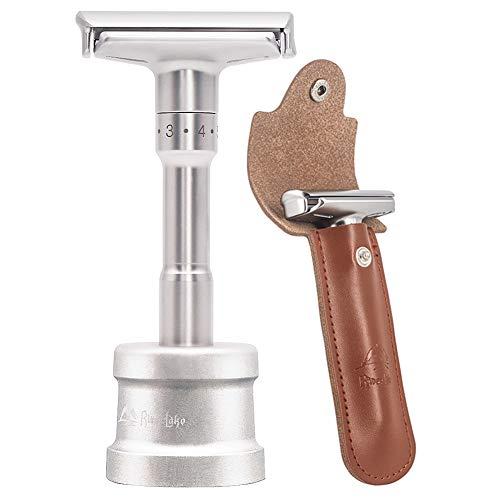 Cuchilla afeitar clásica ajustable alta calidad