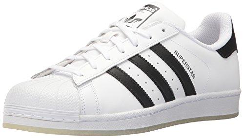 adidas Unisex-Erwachsene Superstar Low-Top, Mehrfarbig (White 001), 42 2/3 EU -