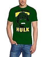 Coole-Fun-T-Shirts Herren T-Shirt Hulk - I Am The Incredible Original Marvel Comics