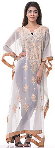 Creative egifts Damen Kimono Strand Designerkleid Georgette Bademode Bikini Überzug Kaftan - Mehrfarbig - Einheitsgröße -