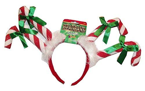 Christmas Candy Cane Headband (Candy Kostüme Cane)